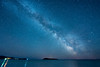 "MILKY WAY 4302<br /> <br /> ""Milky Way over Hat Point and Pete's Island""<br /> <br /> Grand Portage, MN"