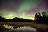 """AURORA 4103<br /> <br /> """"Magical Meadow""""<br /> <br /> Northern Lights on April 15, 2015 - Grand Portage, MN"""