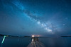 "MILKY WAY 4471<br /> <br /> ""April Milky Way over the Monument Dock""<br /> <br /> Grand Portage National Monument, MN"
