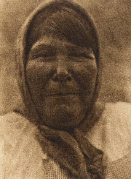 A Washo woman (The North American Indian, v. XV. Norwood, MA, The Plimpton Press, 1926)