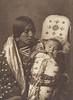 Mother and Child - Apsaroke (Indians of North America, v. IV. Cambridge, MA: The University Press, 1909)