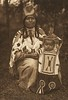 Cayuse Mother and Child (The North American Indian, v. VIII. Norwood, MA: The Plimpton Press, 1911)