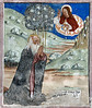 [FRANCE.ALPSSOUTH 29841] 'Christ appearing to St. Anthony in Clans.'