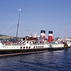 Paddle Steamer Presrvation Society PS Waverley approaching Campbelltown 2 Aug 95