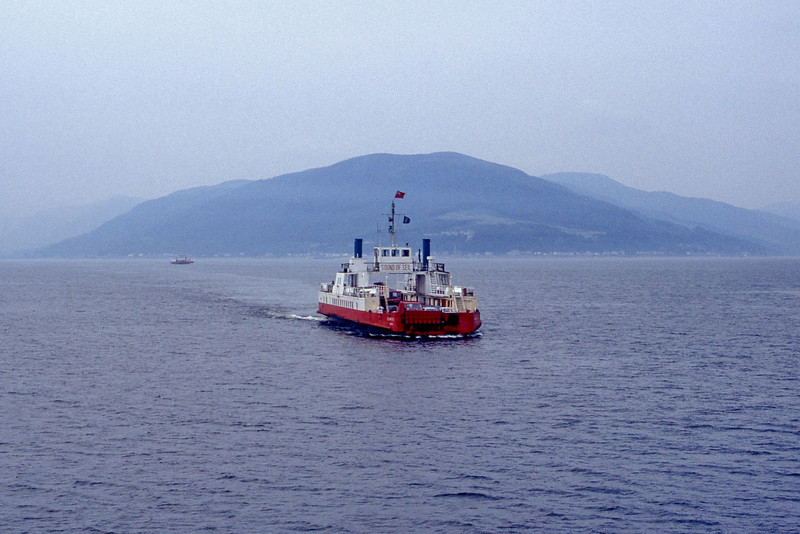 Western Ferries MV Sound of Seil Firth of Clyde Jul 93