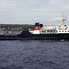 Caledonian MacBrayne MV Pioneer leaving Rothesay May 94