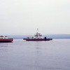 Western Ferries MV Sound of Sleat approaching Hunter's Quay Jun 93