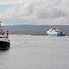 Northlink Ferries MV Hamnavoe_Orkney Ferries MV Graemsay Stromness Harbour 2 Jul 12