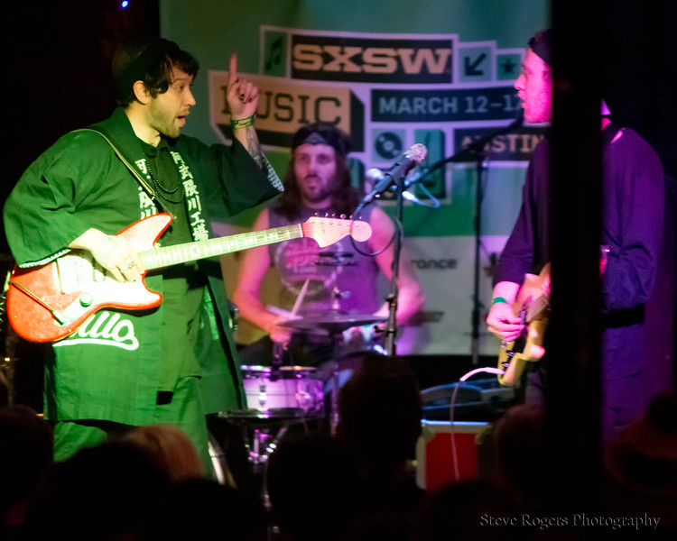 Unknown Mortal Orchestra performs at the Red 7 Patio - SXSW 2013