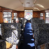 Welsh Highland Railway Glaslyn Pullman Coach Interior Apr 14