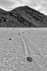 Racetrack BW - Death Valley National PArk - California
