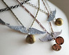 copper brass silver lockets Hogwarts Harry Potter quidditch golden snitch necklaces renee hong