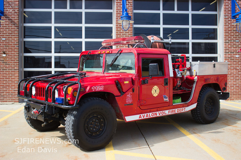 Avalon, Cape May County NJ, Brush 11-29, 1996 Hummer 250-250, (C) Edan Davis, www sjfirenews com