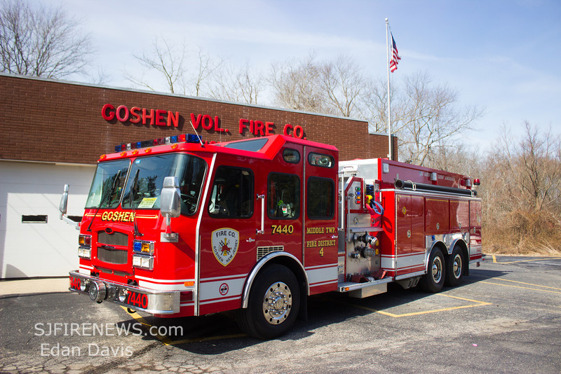 Goshen, Cape May County NJ, Tender 74-40, 2005 E-One Typhoon, 1250-3000, (C) Edan Davis, www sjfirenews com