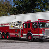 Palmyra, Burlington County NJ, Ladder 8015, 1991 Spartan-LTI 100'ft, (C) Edan Davis, www sjfirenews com