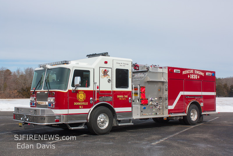Dennis Twp  Cape May County NJ, Engine 18-36, 2015 KME Panther 2000-1000-Jaws, (C) Edan Davis, www sjfirenews com  (12)