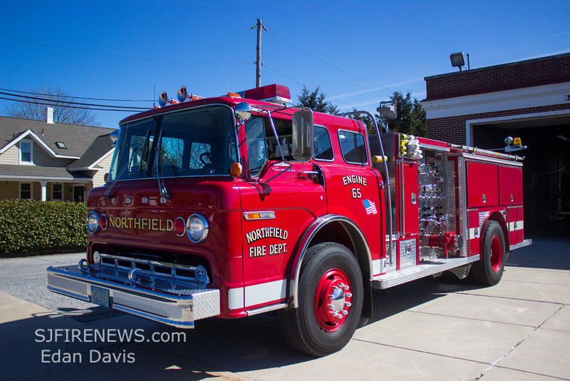 Northfield (Atlantic County NJ) Engine 65, 1983 Ford8000 -E-One, 1250-750, (C) Edan Davis, www sjfirenews com