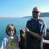 Cailyn's first Smallmouth Bass. Caught on Banks Lake in eastern Washington. This was 19.5 inches and just over 3 pounds.