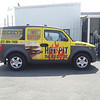 Dickey's Barbecue Pit, Honda Element, Dallas, TX