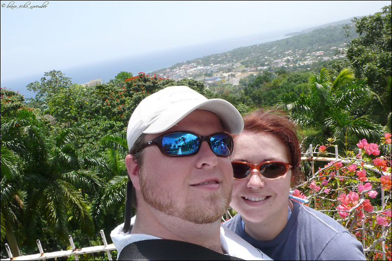Sarah and I in Ocho Rios