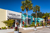 Art galleries on 3rd street in the historical district in Naples, Florida, USA.