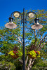 A decorative light standard on 5th Ave. in Naples, Florida, USA.