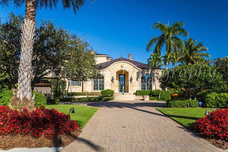 A large home in Naples, Florida, USA.