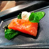 Langsum poached salmon, watercress & horseradish