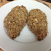 (2014.02.22) - Nut Encrusted Chicken Breasts  (plating)