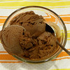 "<h1>Homemade Chocolate Ice Cream</h1> I received an ice cream maker as a gift last month, and for my first recipe with it decided to make the <a href=""http://vegandad.blogspot.com/2009/07/decadent-chocolate-ice-cream.html"">Chocolate Ice Cream recipe</a> from <a href=""http://vegandad.blogspot.com/"">Vegan Dad's blog</a>.  GOSH is this stuff good!!   <b><i>""Make-you-go-weak-in-the-knees-get-a-silly-smile-on-your-face""</i></b> type of good!!"