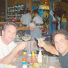 ___ & Rob enjoying the BEST MARGARITAS I've found in Costa Rica - at Casana de Laly! (though they're NOT cheap)