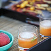 Summeripe Peach Prohibition and Stone Fruit Kabobs