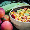 Summeripe Peach & Grilled Corn Salad