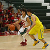 The Lindsay Cardinals were overwhelmed by Corcoran on Thursday, January 22nd losing 60-22.