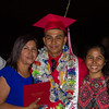 Lindsay High School held its 2015 Graduation Ceremony on Friday, June 12, 2015. The Gutierrez family with Lindsay High School 2015 graduate Jonathan. Jonathan will be attending San Jose State University on a Soccer scholarship.