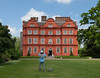 Kew Gardens - Taking a picture of Kew Palace.