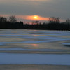 Fort Custer - Winter Sunset