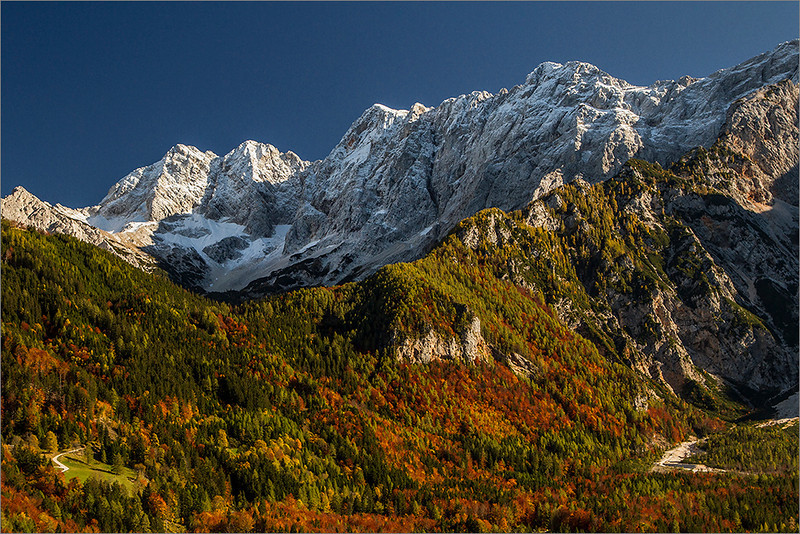 Autumn in Jezersko