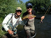 Matching the Hatch<br /> Flyfishing on the Provo and Weber Rivers during the Summer Board of Trustees Meeting<br /> Photo: USSA Foundation staff