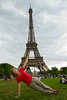 Eiffel Tower Planking