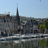 The marina in Honfleur