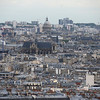 The Pantheon, and Church of St Eustace, from Sacre Coeur