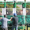The Tin Man (2nd left) in the stalls 10.6.14