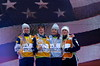 Kiley McKinnon, Mac Bohonnon, Ashley Caldwell and Laura Peel<br /> 2015 Freestyle Aerials World Cup Finals - Belarus<br /> Photo: USSA