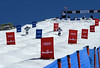 Sterling Crescimanno and Ryan Dyer (r)<br /> Dual Moguls<br /> 2015 USANA U.S. Freestyle Championships<br /> Photo © Larry Pierce