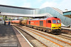 60059 heads east through Newport on the:<br /> 6B13 05:07 Robeston to Westerleigh<br /> <br /> 29/04/14