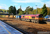 66193 heads north through Totnes working the: 3J14 08:32 St Blazey to Par via Newton Abbot  10/11/13