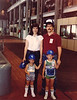 This is the whole crew way back in 1982! We were attending the annual KPL employee picnic at the Lawrence power plant. Dad still works for that company today, but he has since transferred down to Wichita. Check out those socks!