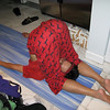 Karnapidasana... it's not as painful as it looks