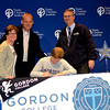 2014 Blake Signs for Gordon with Sheryl, Lane and Coach Tarbett